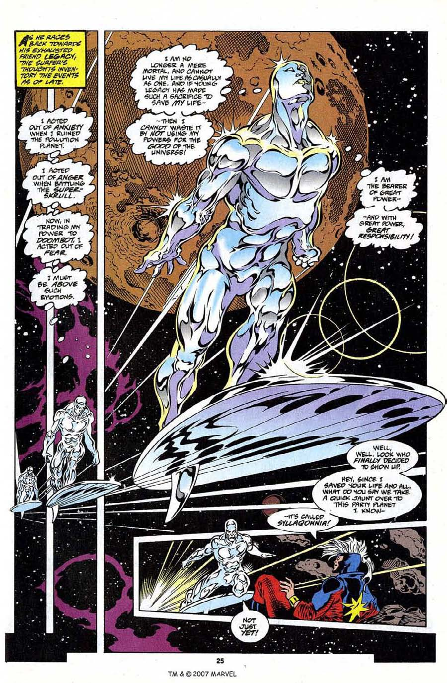 Silver Surfer (1987) Issue #108 #116 - English 27