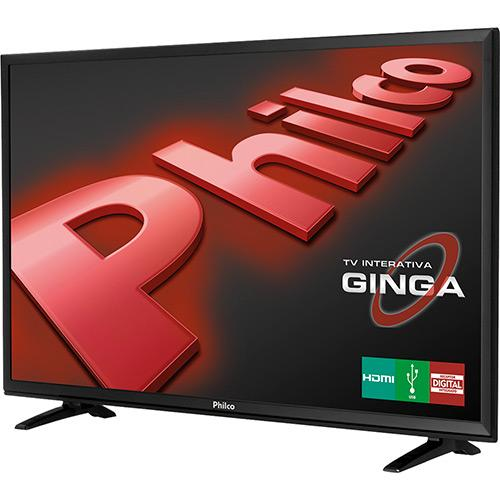 "TV LED 32"" Philco HD com Conversor Digital HDMI USB Closed"