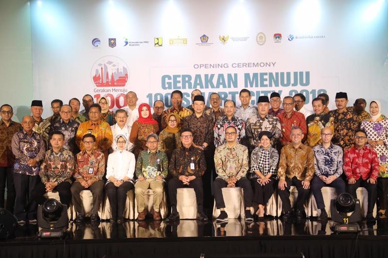 Kemendagri Dorong Implementasi Kota Cerdas di 100 Kabupaten/Kota