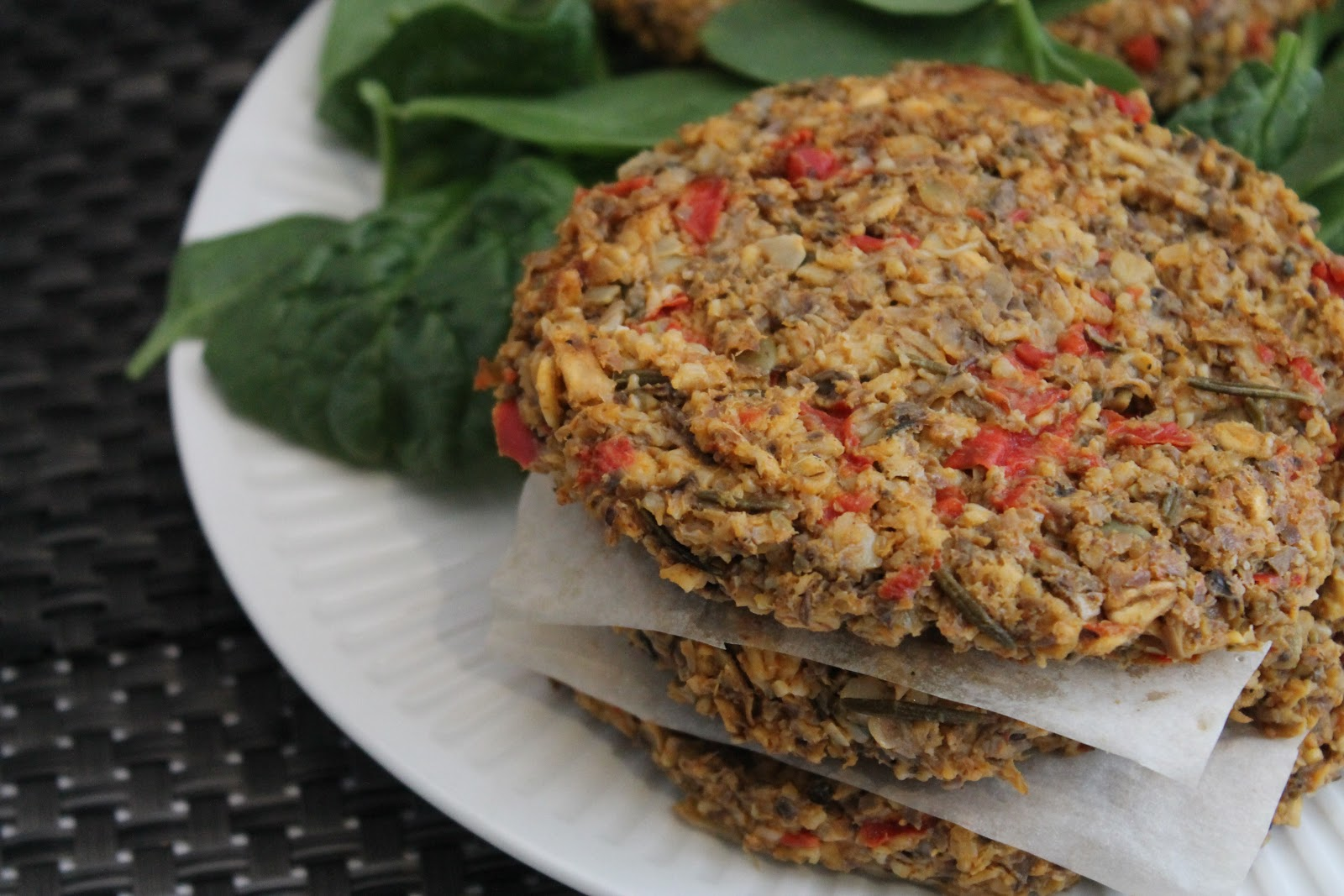 Mushroom Sweet Potato Veggie Burgers