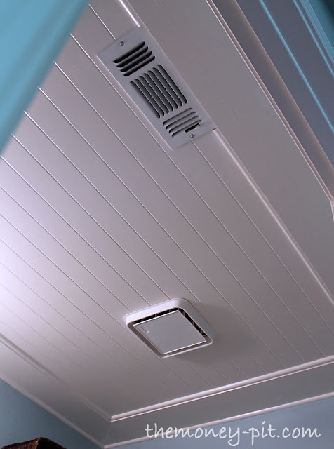 install a bead board ceiling