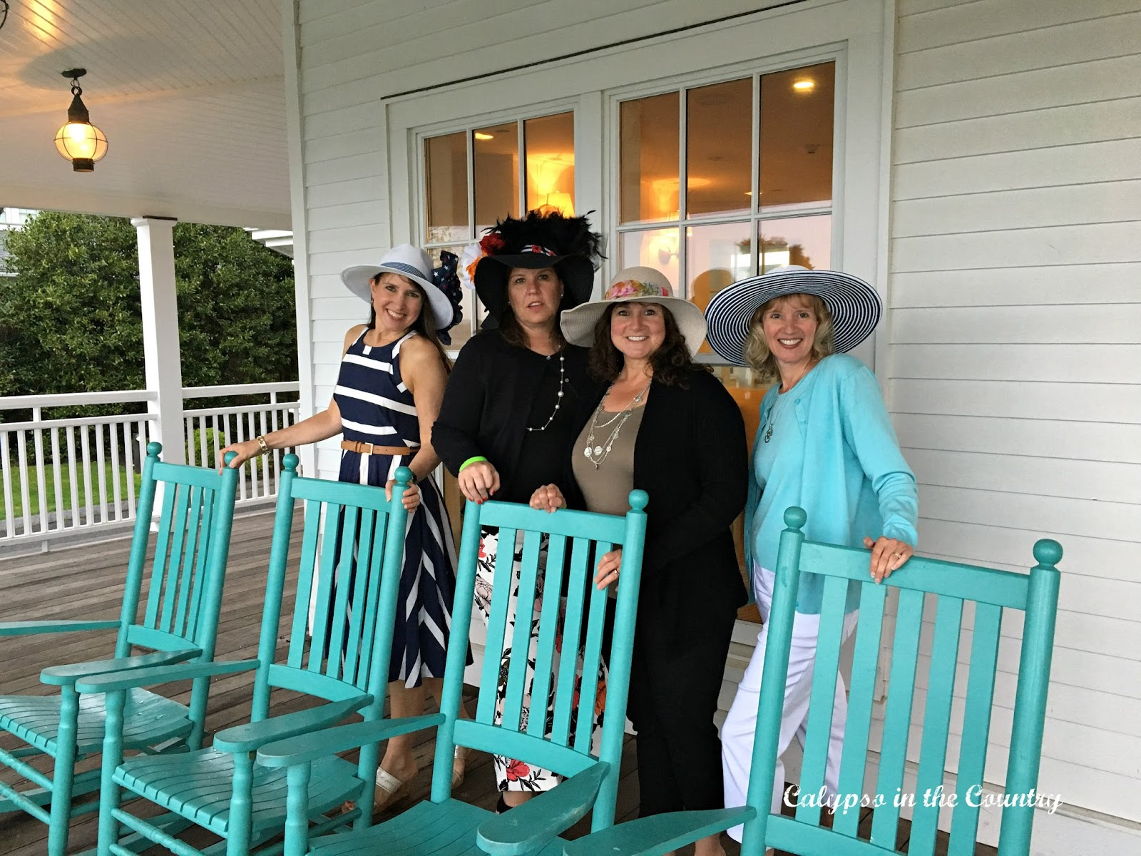 Derby Outfits at the Harbor View Hotel