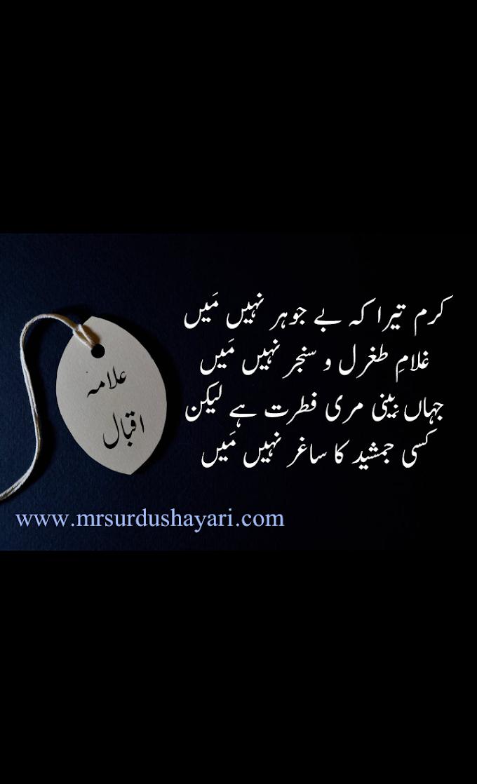 Iqbal Shayari, علامہ اقبال شاعری، Best Shayari Images, Allama Iqbal ki Shayari, علامہ اقبال کی شاعری