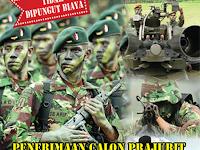 Penerimaan Tamtama PK TNI AD 2016 Gelombang I