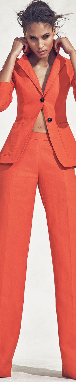 Altuzarra Elbow-Patch Two-Button Blazer and Wide Leg Trouser