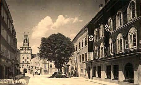 Casa de Hitler - Foto antiga