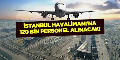 İstanbul havalimanı personel