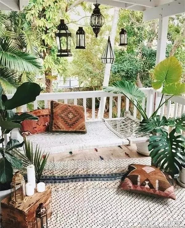 11 Ideas About Boho Chic Terraces - Very Cozy To Enjoy With Your Family 2