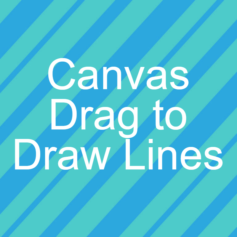 Drawing Smooth Lines Canvas : Drag to draw lines on canvas jquery dotnet