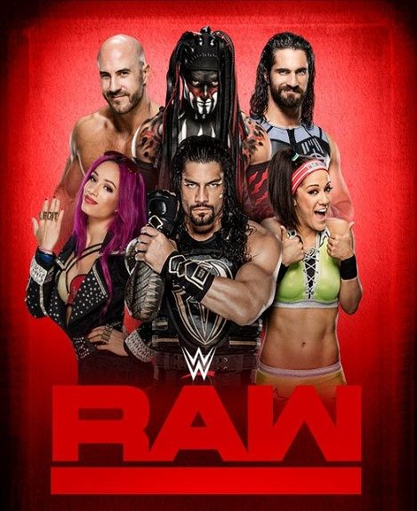 WWE Monday Night RAW (04 April 2020) full hd 480p HDTV 350MB