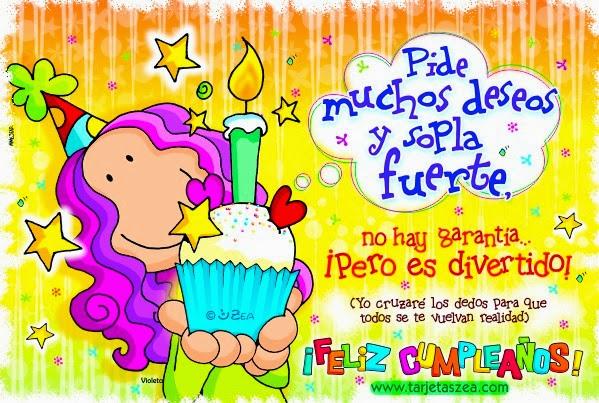 Feliz Cumpleaños - Imagenes de cumpleaños con frases