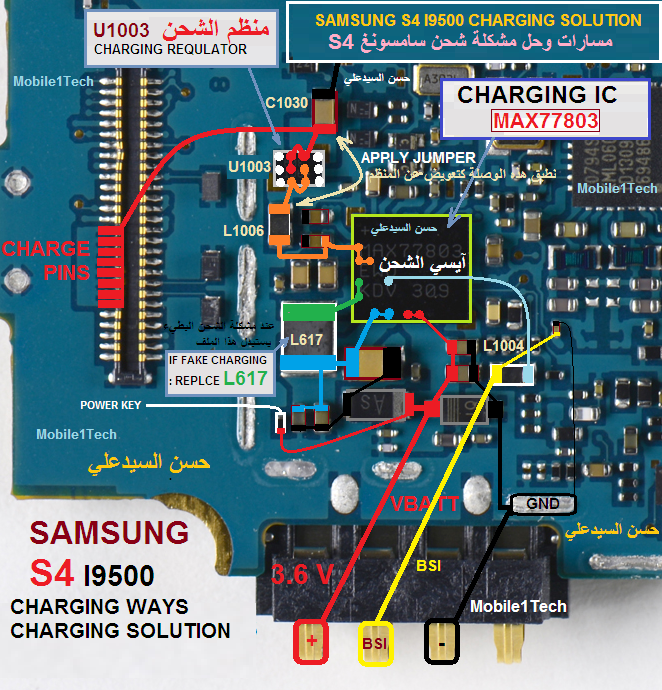 SAMSUNG S4 CHARGING SOLUTION | Mobile1Tech