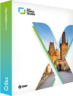 Zoner Photo Studio X 19.1704.2.21 poster box cover