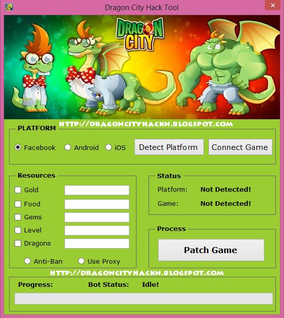 download dragon city hacker