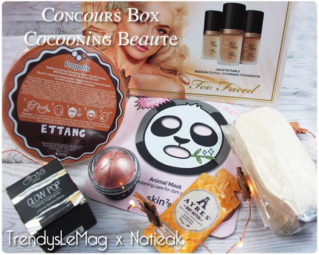 Concours  Box cocooning beauté