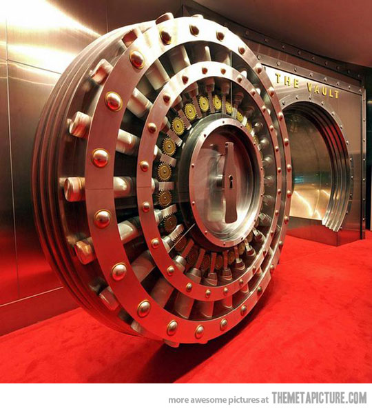 the vault that protects the secret formula for coca cola
