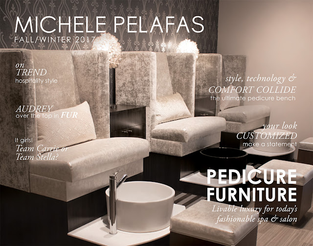 Michele Pelafas Fall/Winter 2017 Pedicure Furniture Catalog Image