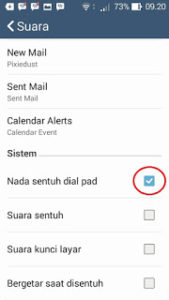 Asus Zenfone 5 suaranya hilang setelah update