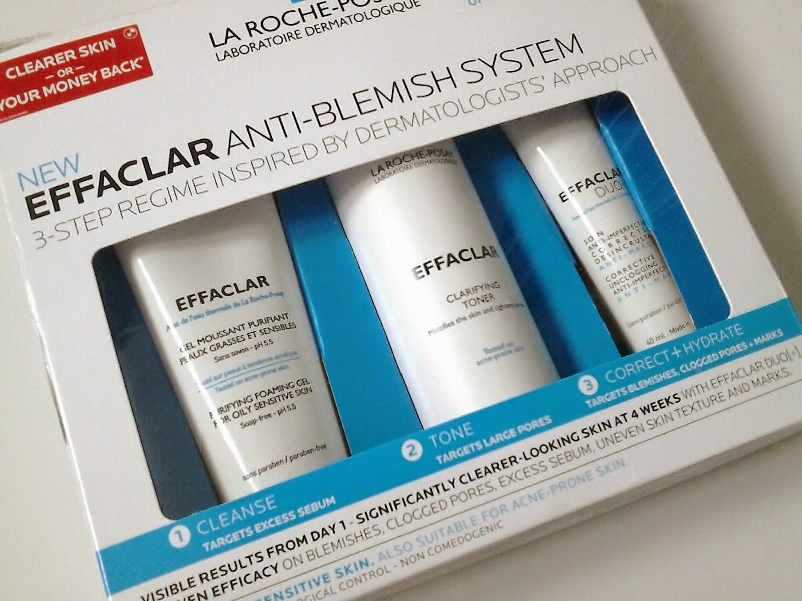 La Roche-Posay Effaclar 3-Step Anti-Blemish System