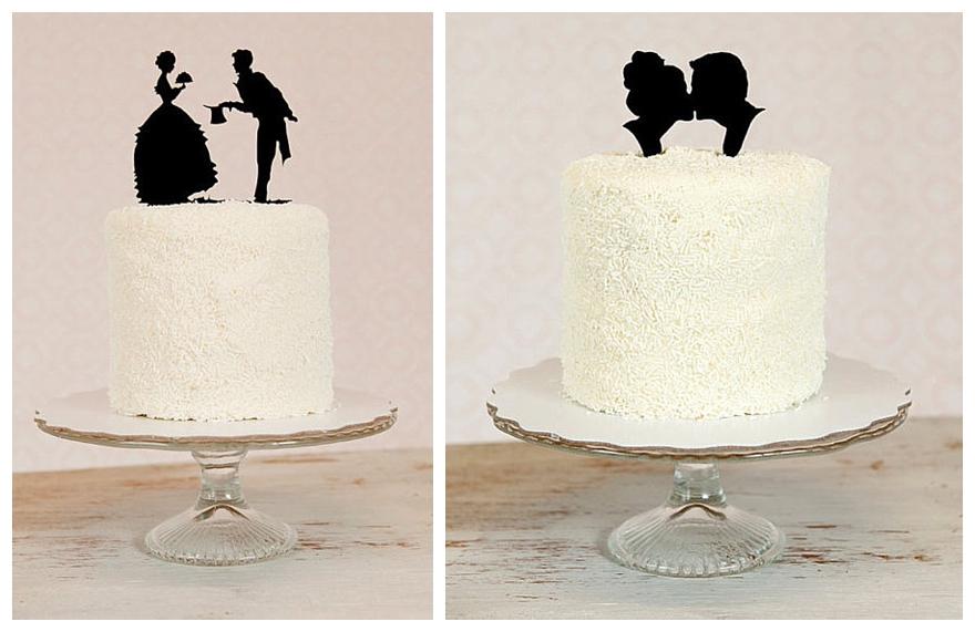 A Vintage Silhouette Wedding Theme