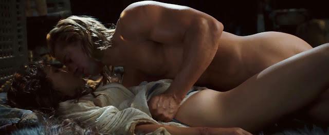 Troy: Rose Byrne et Brad Pitt