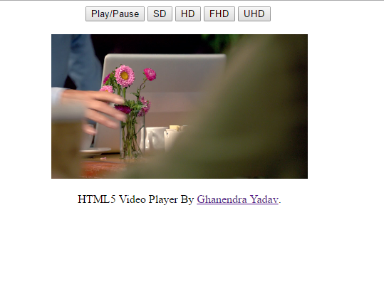 free html5 SD video player