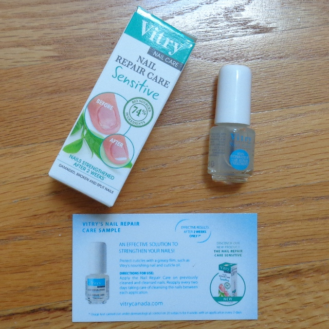 Vitry Nail Repair Care Sensitive Review