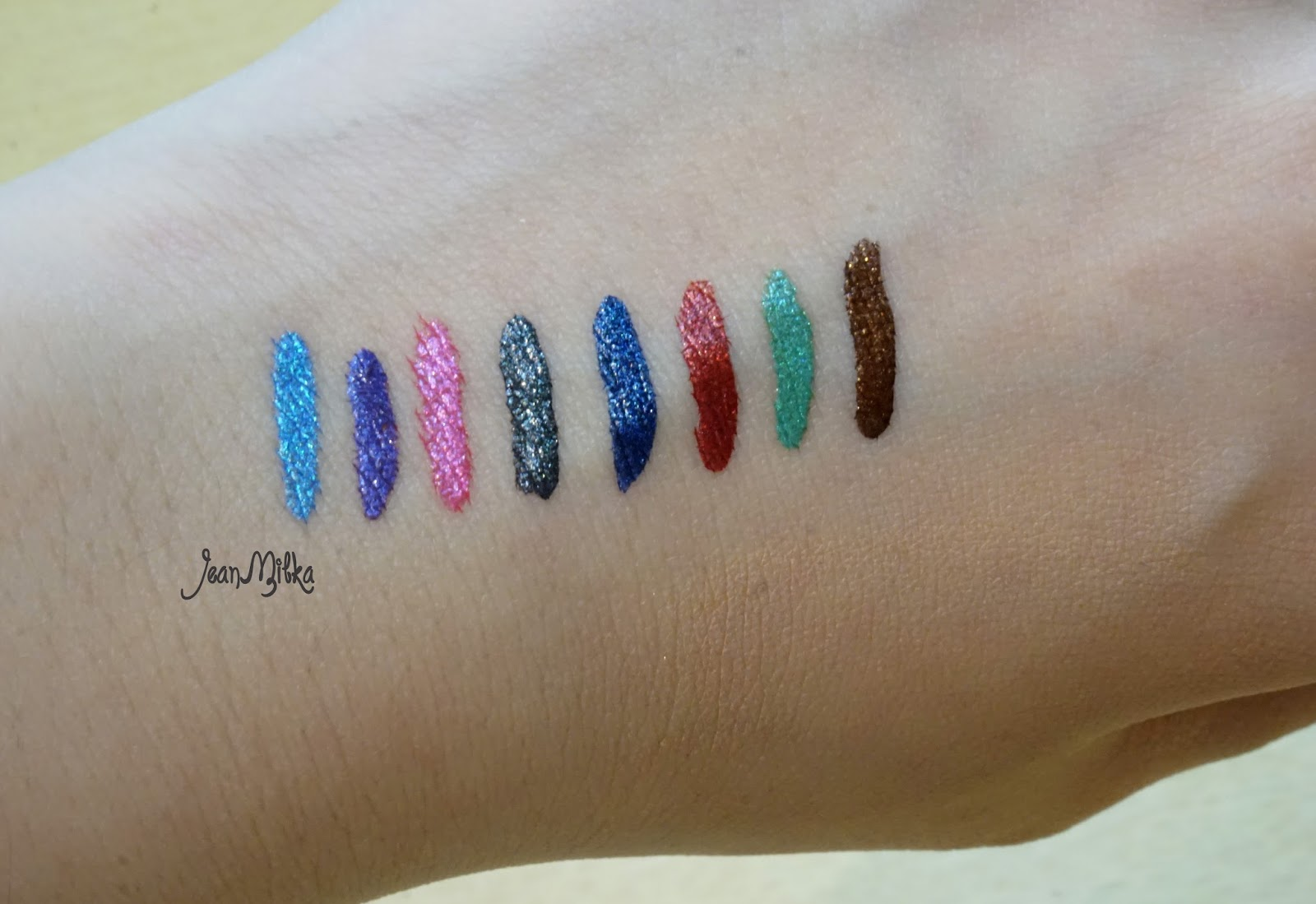 shu uemura, metal:ink, spring 2015, metal bouquet, swatch, review