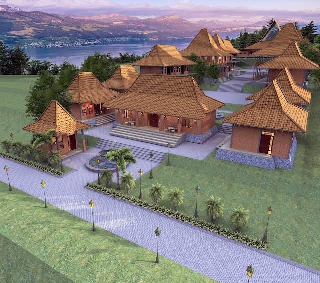 Jasa Desain Pondok Pesantren Sederhana Kabupaten Kep. Seribu 2020