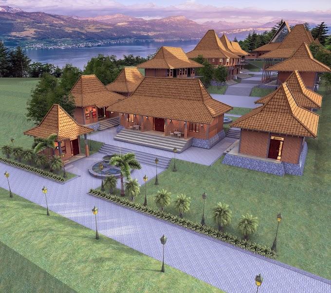 Jasa Gambar Desain Pondok Pesantren Malang