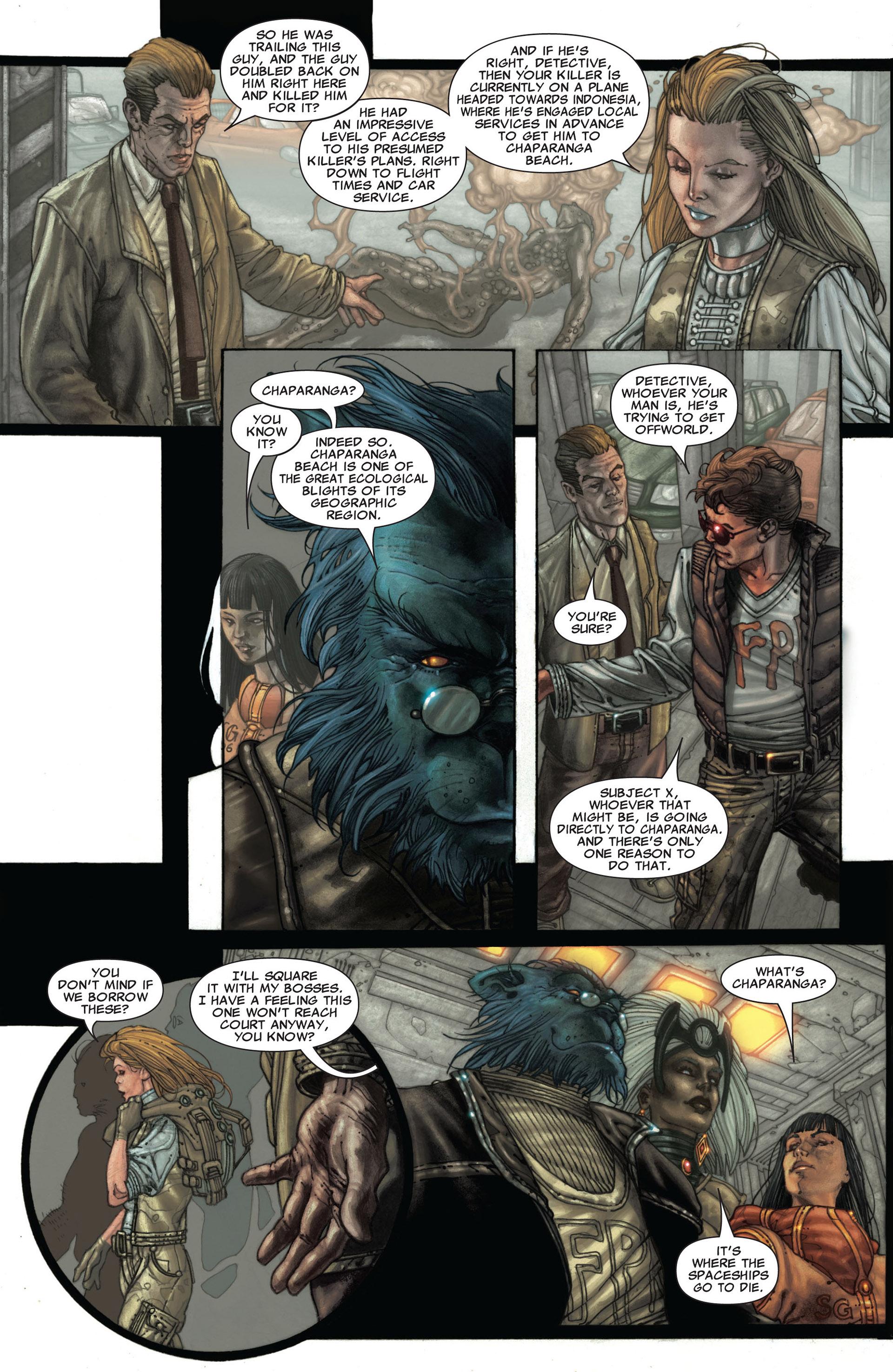 Read online Astonishing X-Men (2004) comic -  Issue #25 - 19