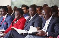 Drop the 2022 succession talks - RUTO now tells KALENJINs and their leaders as he assures them he will be President not MOI