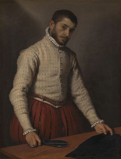 Giovanni Battista Moroni (c. 1520/24 - 1579) The Tailor