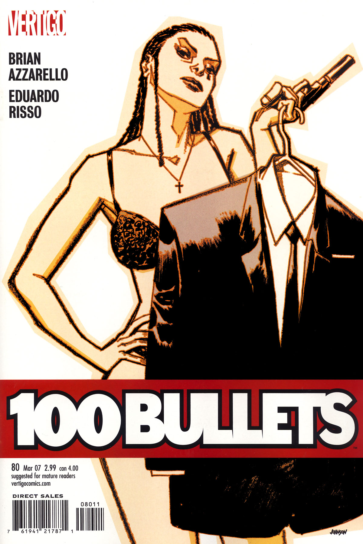 Read online 100 Bullets comic -  Issue #80 - 1