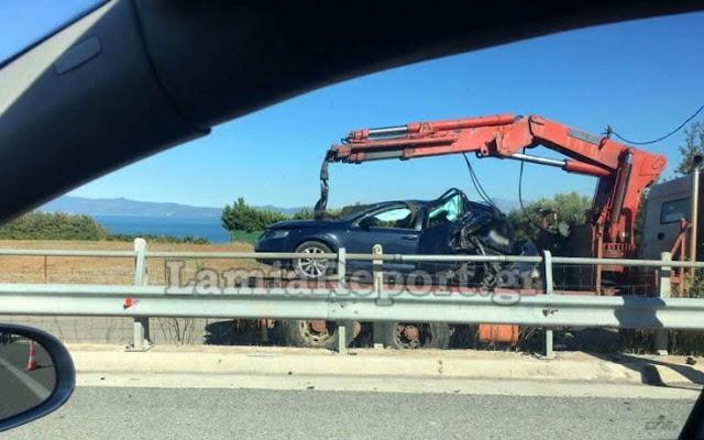 Αυτοκίνητο έπεσε πάνω σε αστυνομικούς της τροχαίας αυτοκινητοδρόμων