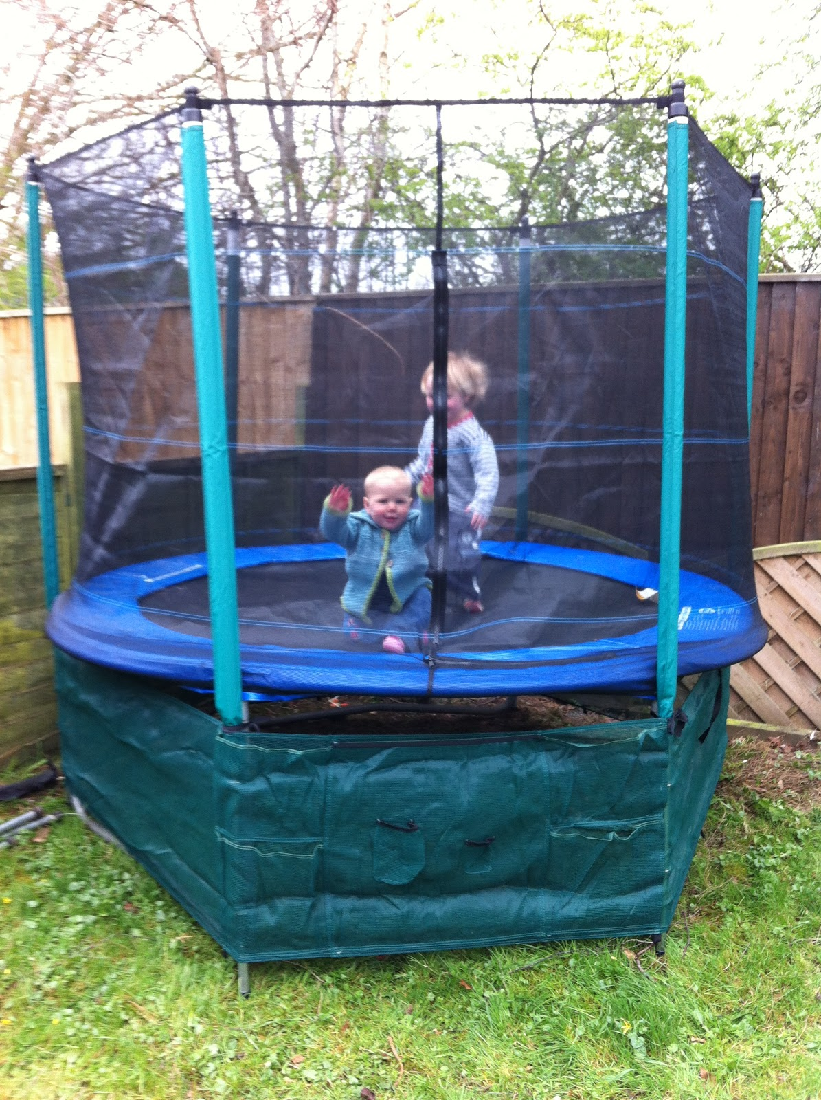 my first trampoline with enclosure instructions