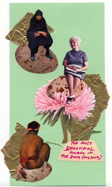paper cut collage for Los Dias Contados