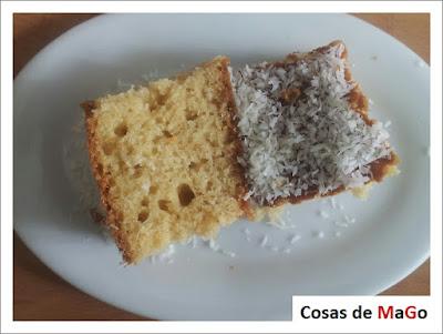 Bizcocho de Coco - Cosas de MaGo