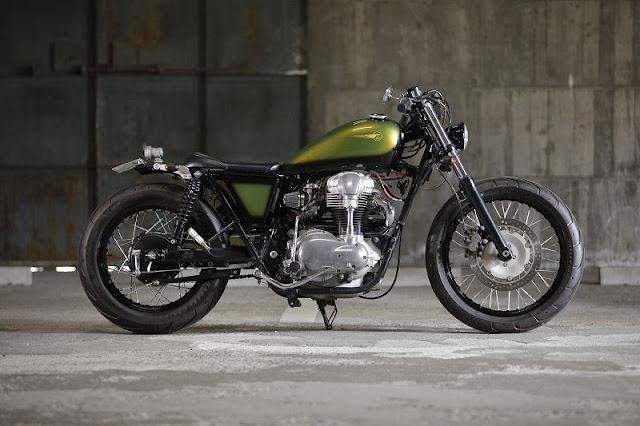 Kawasaki W650 By Heiwa Hell Kustom