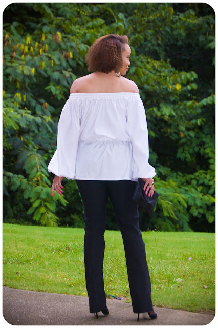 McCall's 7163 | Transitioning into Fall with a Crisp White Statement Shirt! -- Erica Bunker DIY Style!