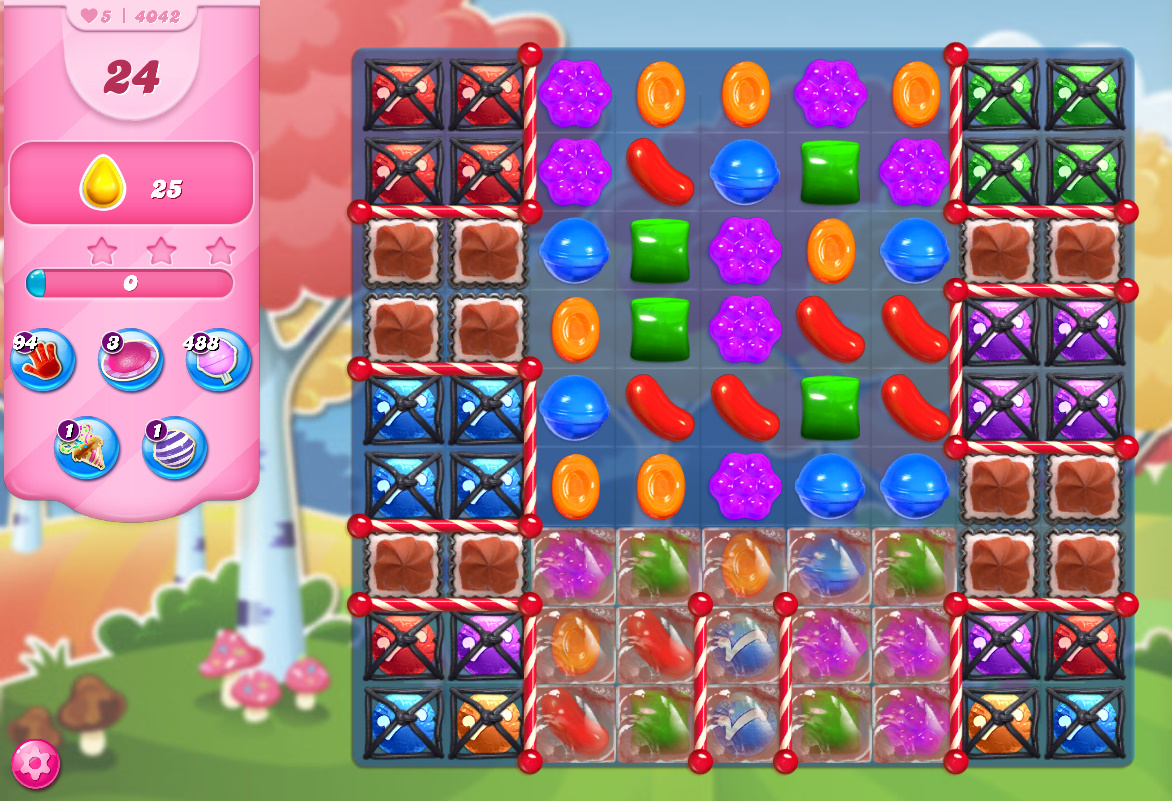 Candy Crush Saga level 4042