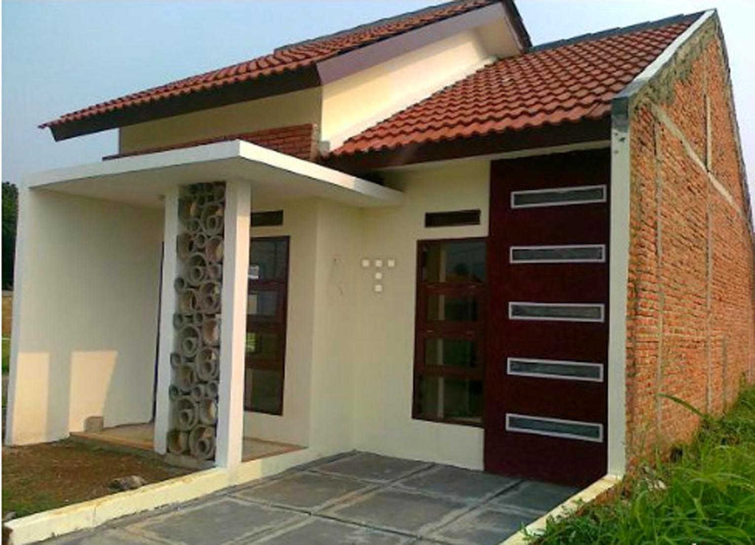 gambar asli rumah minimalis sederhana