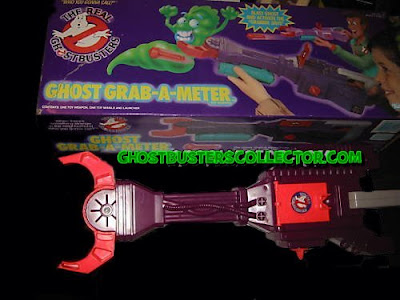 Kenner The REAL Ghostbusters Ghost Grab-A-Meter Roleplay Toy