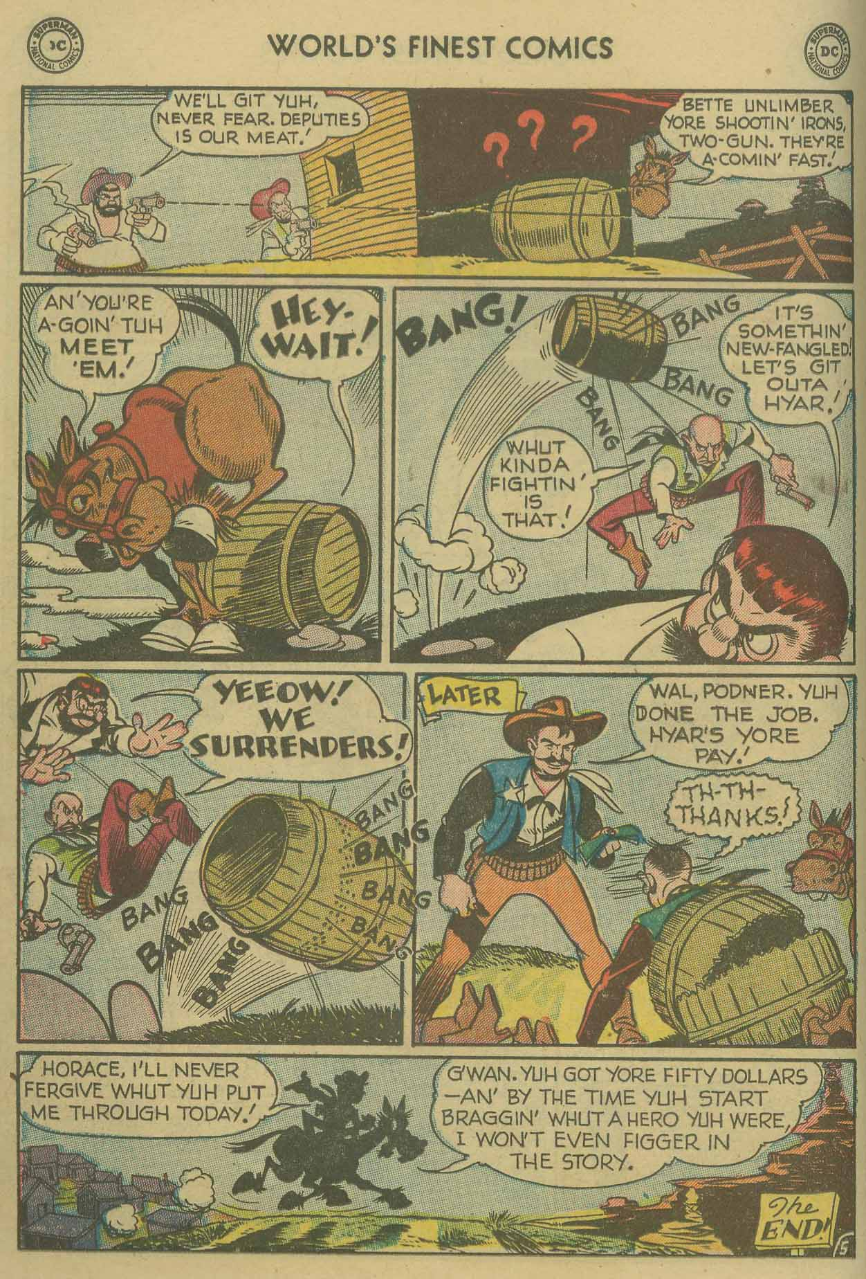 Read online World's Finest Comics comic -  Issue #69 - 42