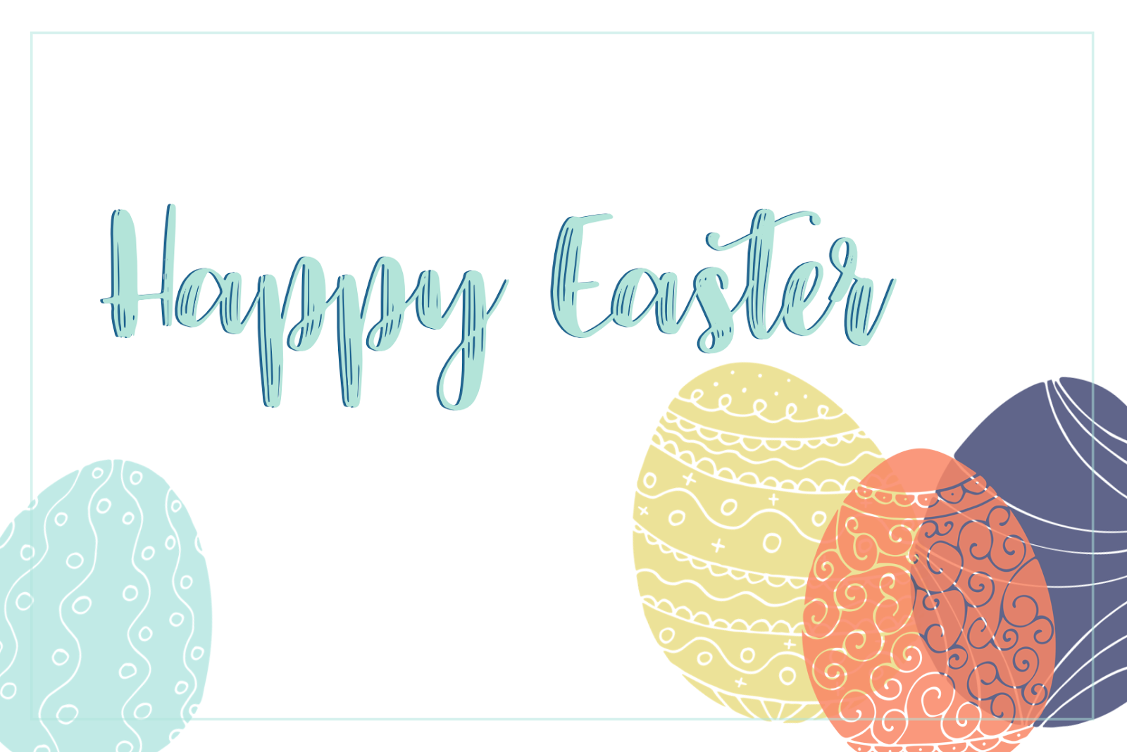 #easter #happy #free #download #journaling #card #happy easter #easter printable