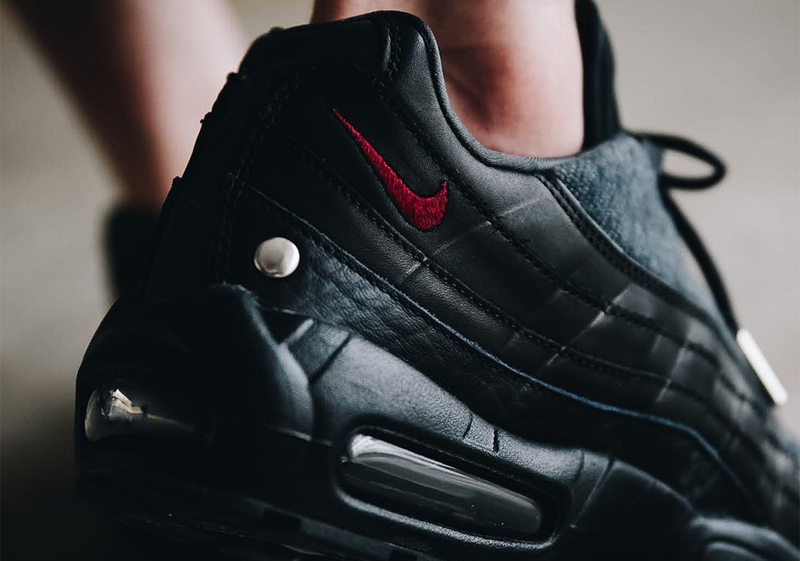 "various colors bb1a2 14fa2 Nike Adds Metal Studs To The Air Max 95 NRG ""Jacket Pack"""