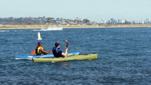 San Diego Kayaking for Health and Fun - Photo by Myrna Duen