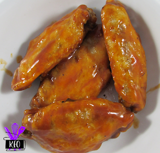 homemade air fryer and pressure cooker chicken wings with sauc