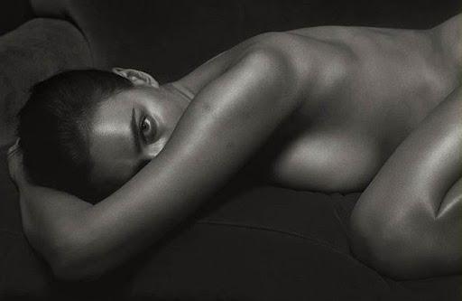 Irina Shayk nude photo shoot for GQ Italy magazine September 2016