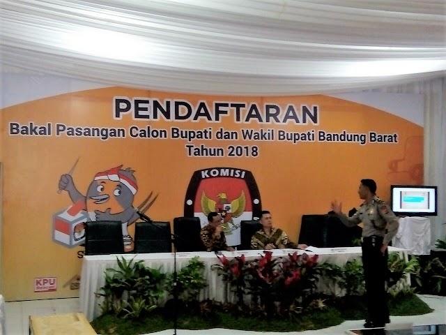 KPU KBB Masih Sepi,  Belum Ada Paslon Bupati/Wakil Bupati  Yang Daftar